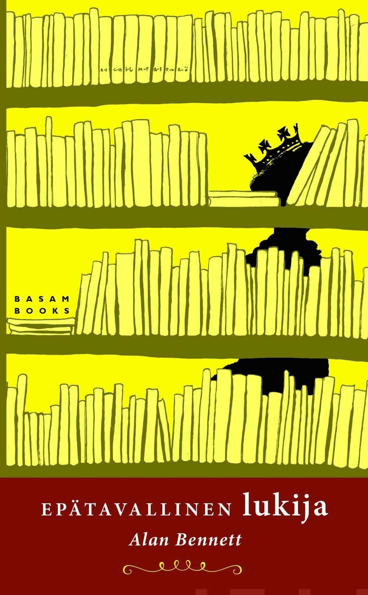 Kansi: Alan Bennett: Epätavallinen lukija