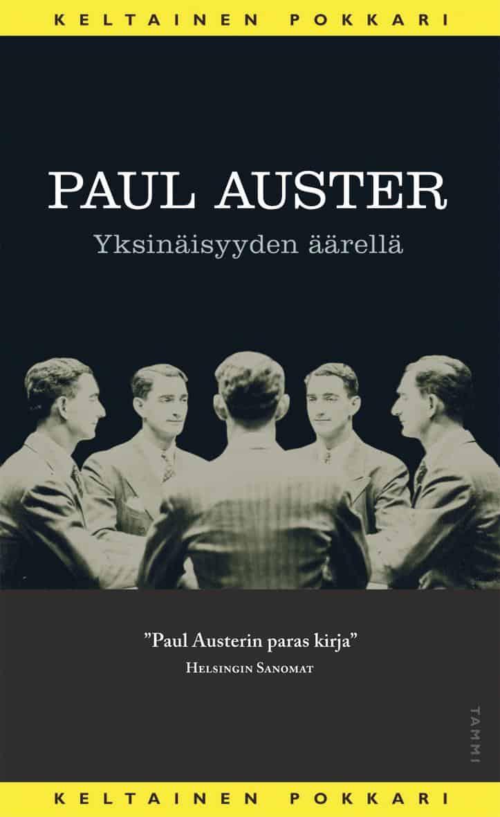 Kansi: Paul Auster: Yksinäisyyden äärellä