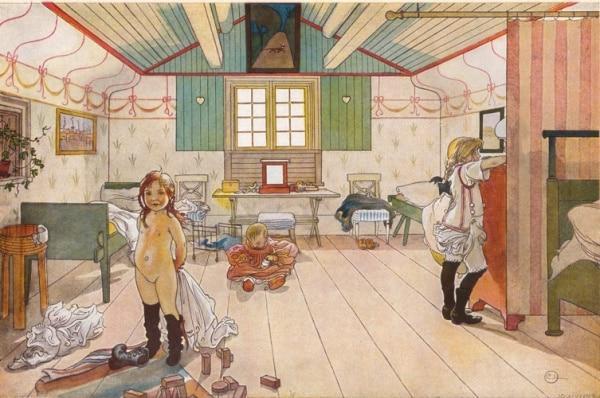 Mammas_och_småflickornas_rum_av_Carl_Larsson_1897