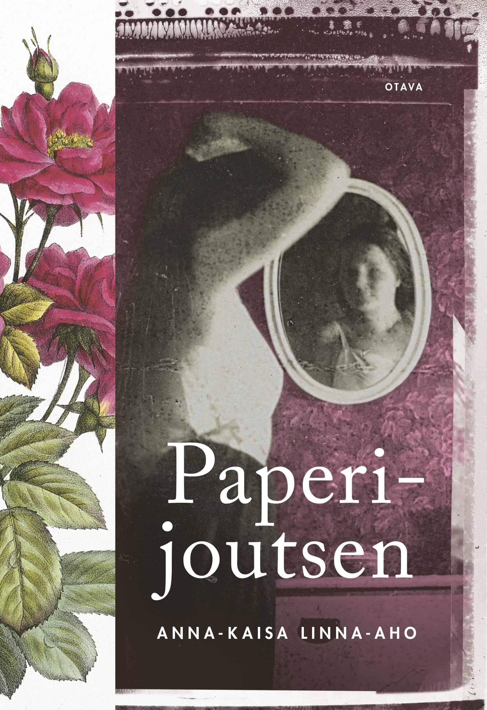 Paperijoutsen-romaanin kansi