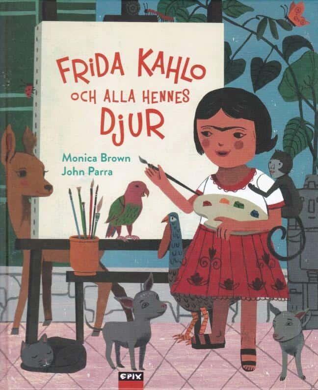 Frida Kahlo och alla hennes djur