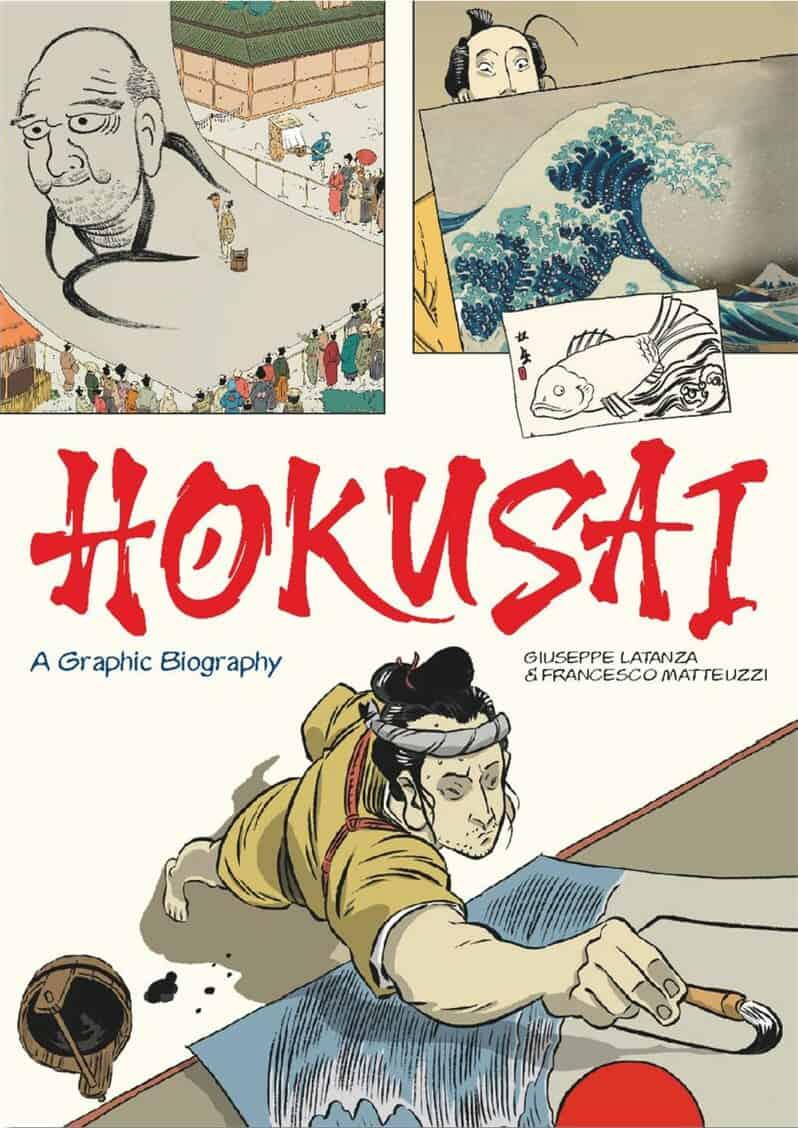 Hokusai : A Graphic Biography
