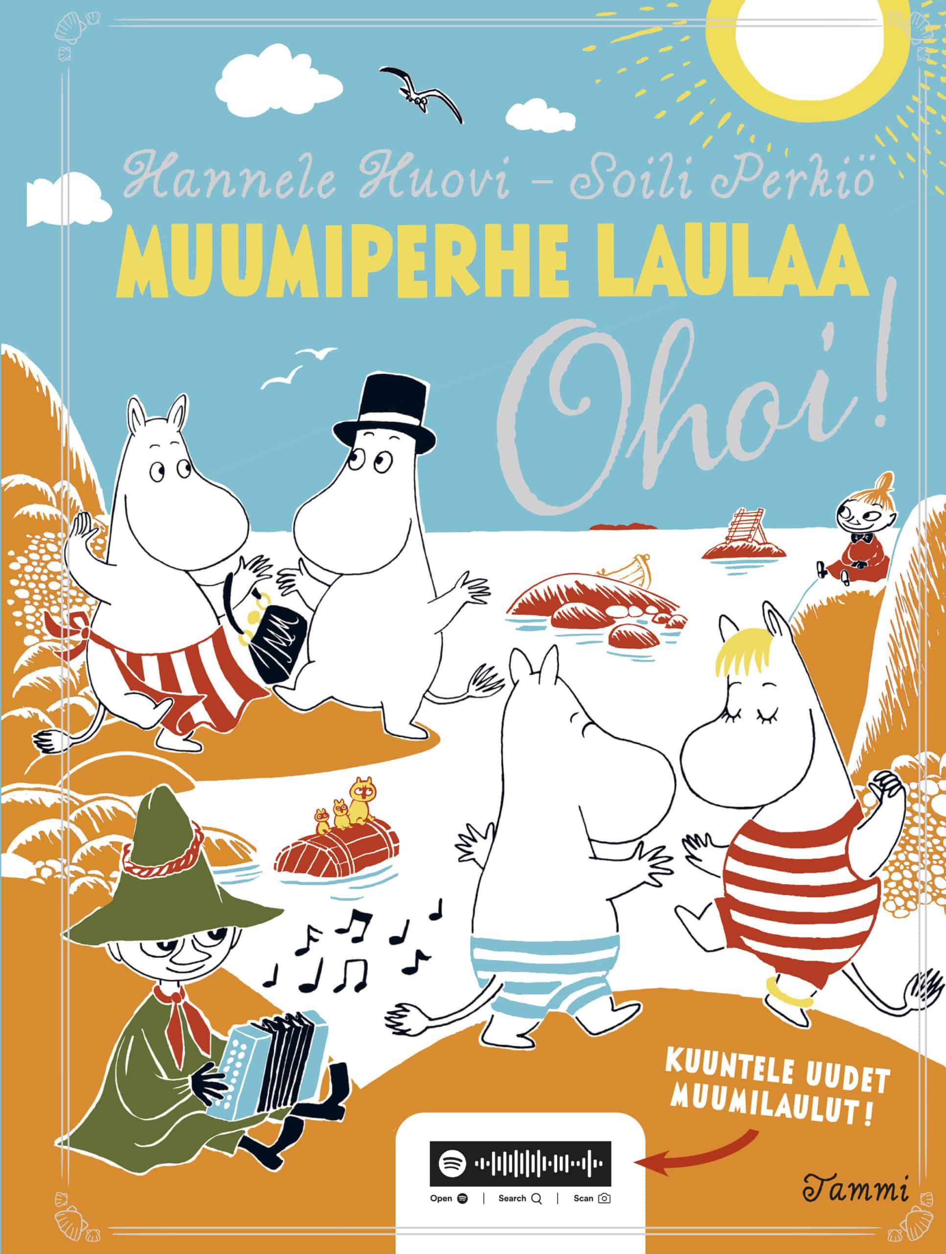 Muumiperhe laulaa, Ohoi!